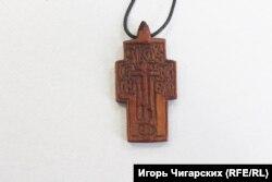 Крест, подаренный Агафьей Николаю Пролецкому