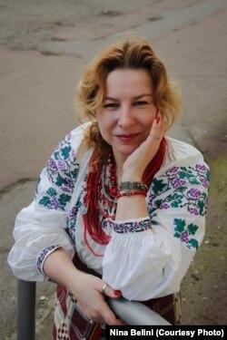 Ніна Бeліні взяла участь у проєкті з популяризації української традиційної культури