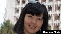 ҚазҰУ студенті Ботагөз Таңатарова. (Сурет жеке мұрағаттан алынған).