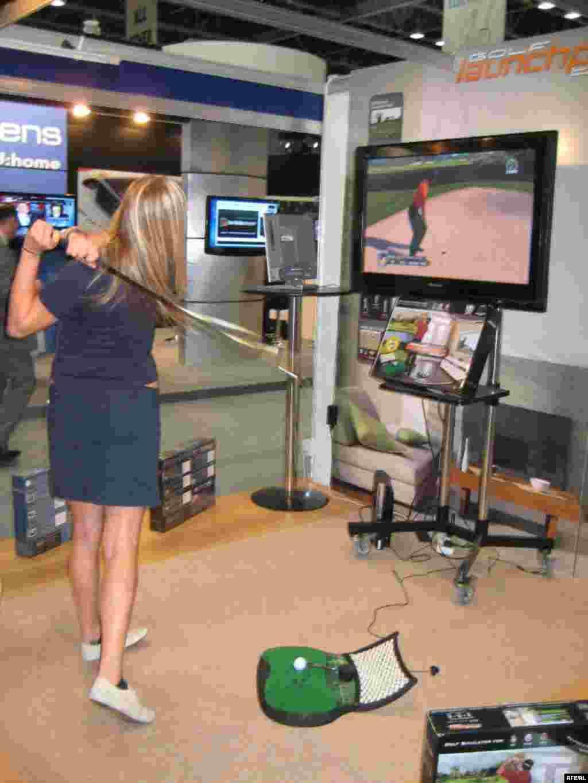 بازی کامپیوتری گلف - نمایشگاه جیتکس دبی