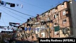 Общежитие, где живут беженцы. Архивно-иллюстративное фото