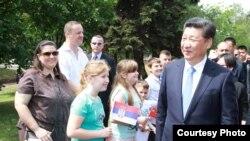 Xi Jinping Smederevo şəhərində, 19 iyun, 2016-cı il