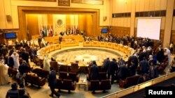 إجتماع في الجامعة العربية
