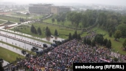 Марш міру і незалежнасьці, Менск, 30 жніўня 2020