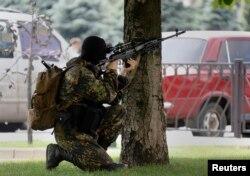 Снайпер батальйону «Восток», Донецьк, 29 травня 2014 року