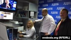 У штабе Сяргея Гайдукевіча
