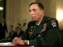 General Petraeus testifying in the Senate on January 23