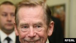 Former Czech President Vaclav Havel said he and his fellow dissidents didn't abandon their ideals after the revolution