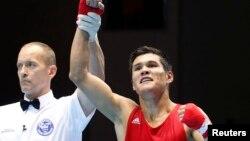 Бокстан Азияның екі дүркін чемпионы Данияр Елеусінов.