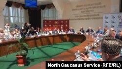Общественная палата России провела заседание во Владикавказе, 16 мая 2018 года
