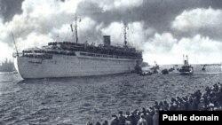 Wilhelm Gustloff — пассажирский лайнер, принадлежавший организации KdF, назван в честь убитого нацисткого партийного лидера Вильгельма Густлоффа