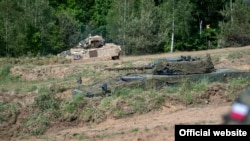 Exercițiile militare de la Drawsko Pomorskie, Polonia. 4 iunie 2020