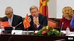 Stefan File na sednici Nacionalnog saveta za evrointegracije Sobranja Makedonije, 2012.