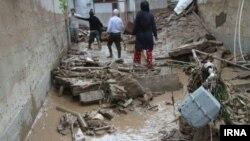سیل بامداد شنبه به تأسیسات زیربنایی شهرستان بهشهر خسارت وارد کرده است