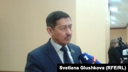 Депутат мажилиса (нижней палаты) Абай Тасбулатов. Астана, 28 января 2015 года.