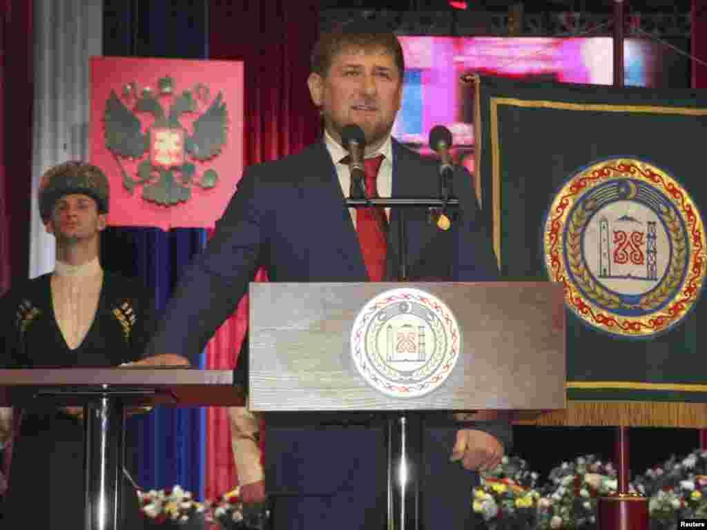 Чечня: Рамзан Кадыров вступил в должность главы Чечни на второй срок.Церемония инаугурации.