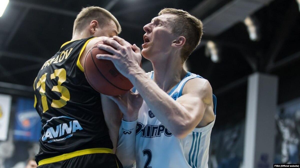 Баскетбол: «Днепр» вырывает победу у «Киев-Баскет» в Кубке Европы FIBA