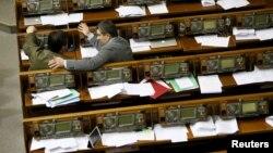 У сесійній залі Верховної Ради України