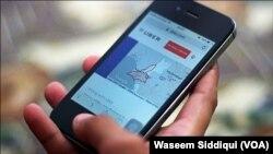 """""""Uber"""" mobil proqram əlavəsi"""