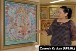 Искусствовед Гульна Жуманиязова. Алматы, 9 апреля 2013 года.