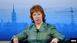 Комиссар ЕС по внешней политике Кэтрин Эштон.