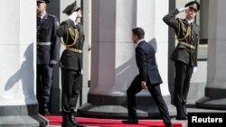 Володимир Зеленський заходить у парламент. Інавгурація. 20 травня 2019 року