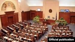 Foto nga Arkivi - Parlamenti i Maqedonisë