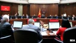 Архивска фотографија - седница на владата на Република Македонија