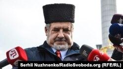The chairman of the Mejlis, Refat Chubarov