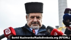 The chairman of the Mejlis, Refat Chubarov