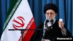 Udhëheqësi suprem i Iranit, Ajatollah Ali Khamenei.