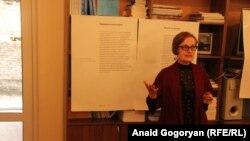 Далила Пилия – директор образовательного центра «Мир без насилия» имени Зураба Ачба