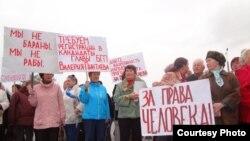 Митинг в Байкальске 22 сентября 2012