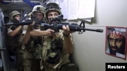 Forcat speciale ushtarake amerikane gjatë një stërvitjeje
