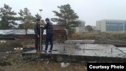 Астанадағы канализация сорғысы салынған № 131 жер телімі.