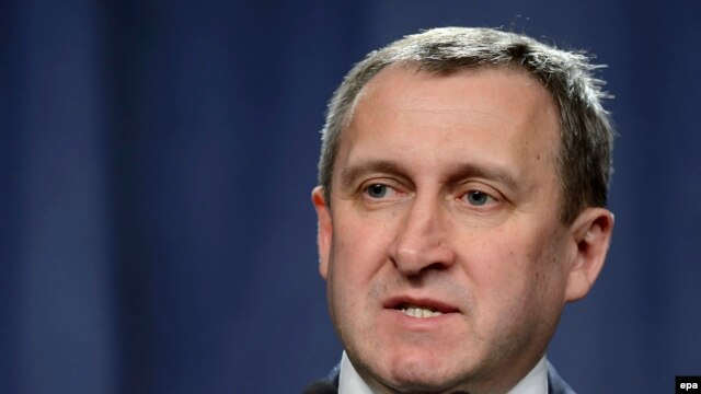 Acting Ukrainian Foreign Minister Andriy Deshchytsya