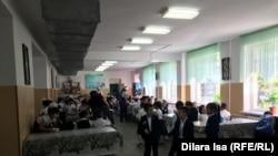 Школьная столовая (Архивное фото)