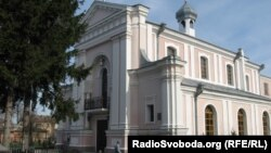 Костел Святої Варвари, де відбулося вінчання Оноре де Бальзака і Евеліни Ганської