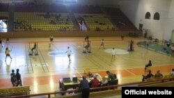 Спортска сала Билјанини Извори во Охрид.