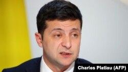 Украина президенти Володимир Зеленский 16 декабрда Бокуга боради.
