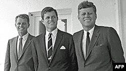 Джон, Эдвард и Роберт Кеннеди