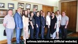 Члены нового Избиркома Крыма с правом решающего голоса