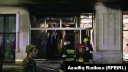 Торговый центр «Karvan» после пожара