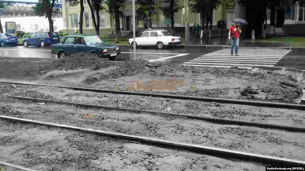 На вулиці Плеханівській ще не готовий пішохідний перехід