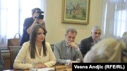 Ministarka Kuburović u razgovoru sa ministrom Kukanom