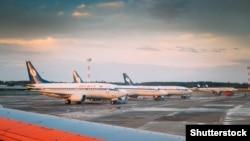 Международный аэропорт в Минске
