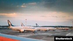 Беларускі нацыянальны аэрапорт. Ілюстрацыйнае фота