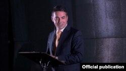 Министерот за надворешни работи на Македонија, Никола Димитров.