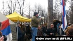 Protesti demobilisanih boraca u Banjoj Luci