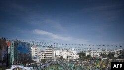 Палестинците во Газа го слават ослободувањето на стотиците затвореници